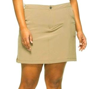 St. John's Bay stretch skort / skirt size 16W